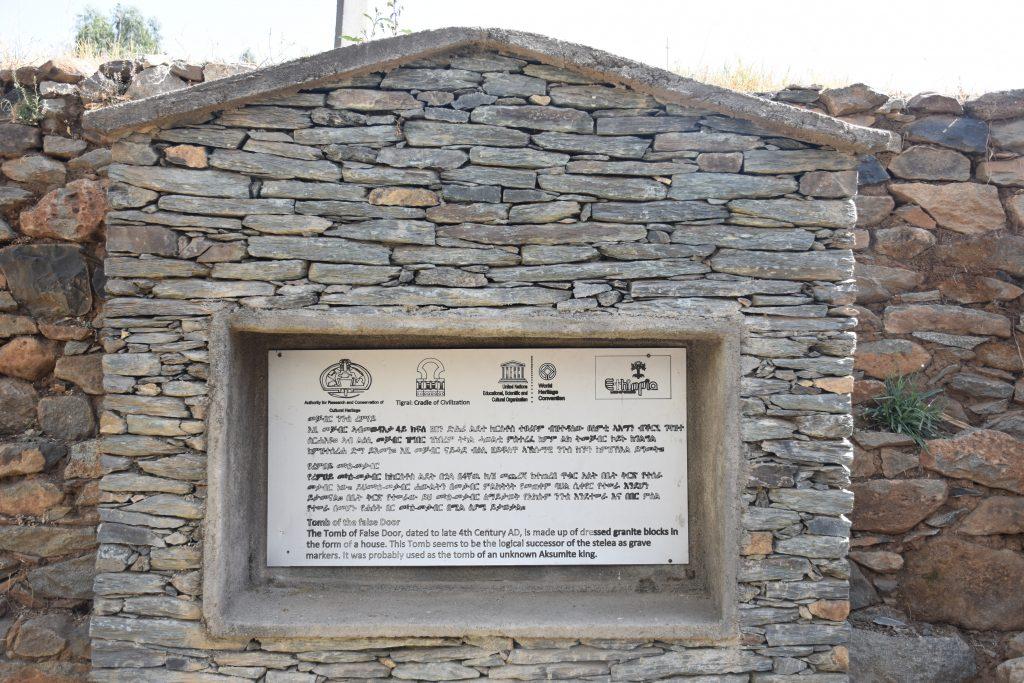 Schild tomb of the false door