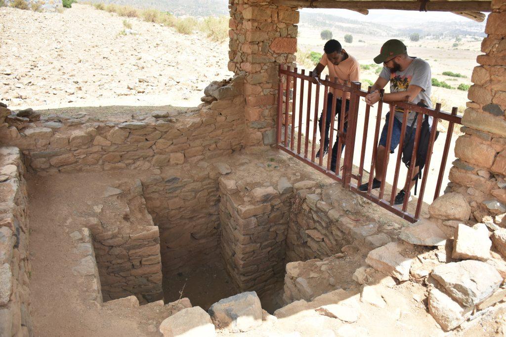 tunnel eritrea king kaleb