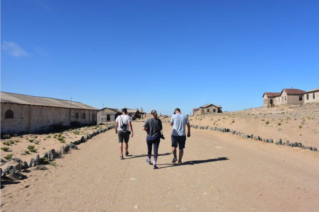 Kolmanskop alleine