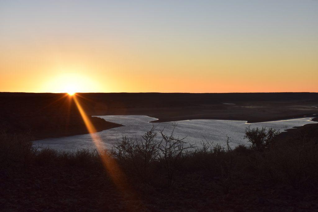 Sonnenuntergang Hardap