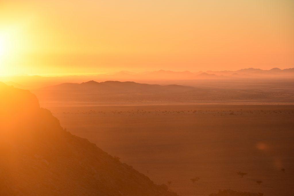 sunset Aus