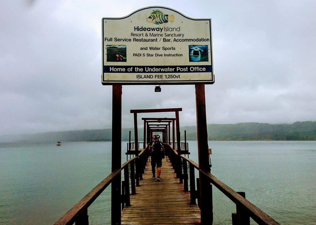 Hideaway Island Bootsdeck