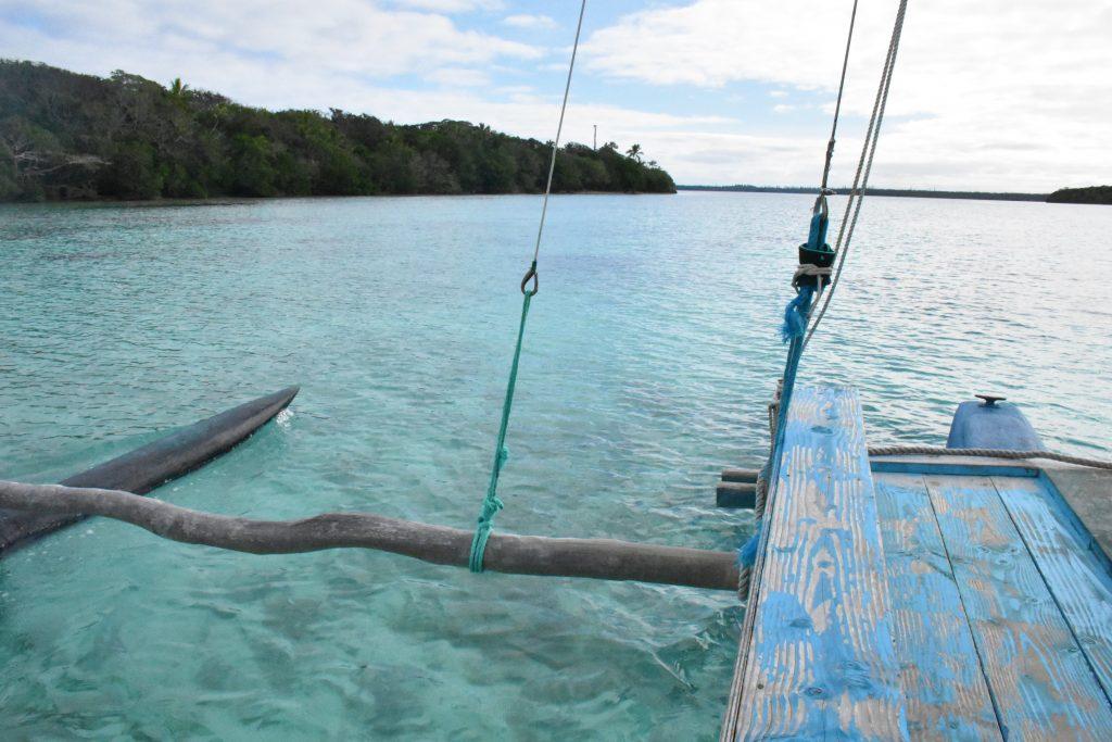 Auslegerboot Pirogue Ile des Pins
