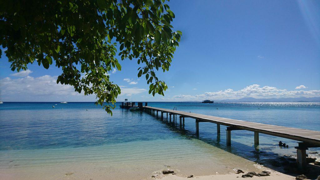 Amedee Island Beach